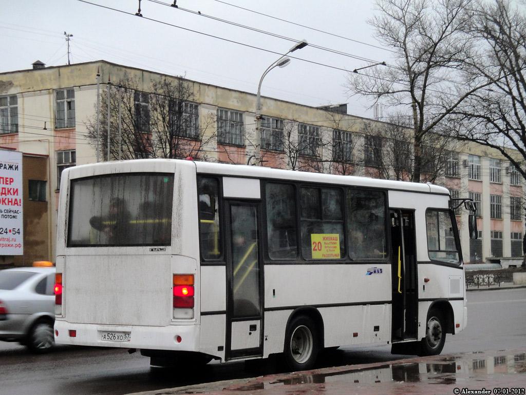 20. Орёл, Московская улица, маршрут.